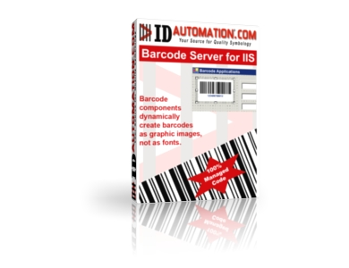 ASP Barcode Server Component for IIS