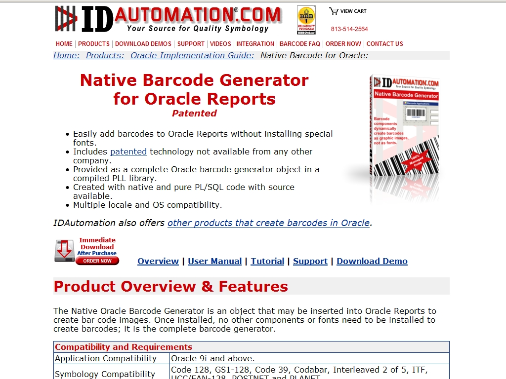 Native Barcode Generator