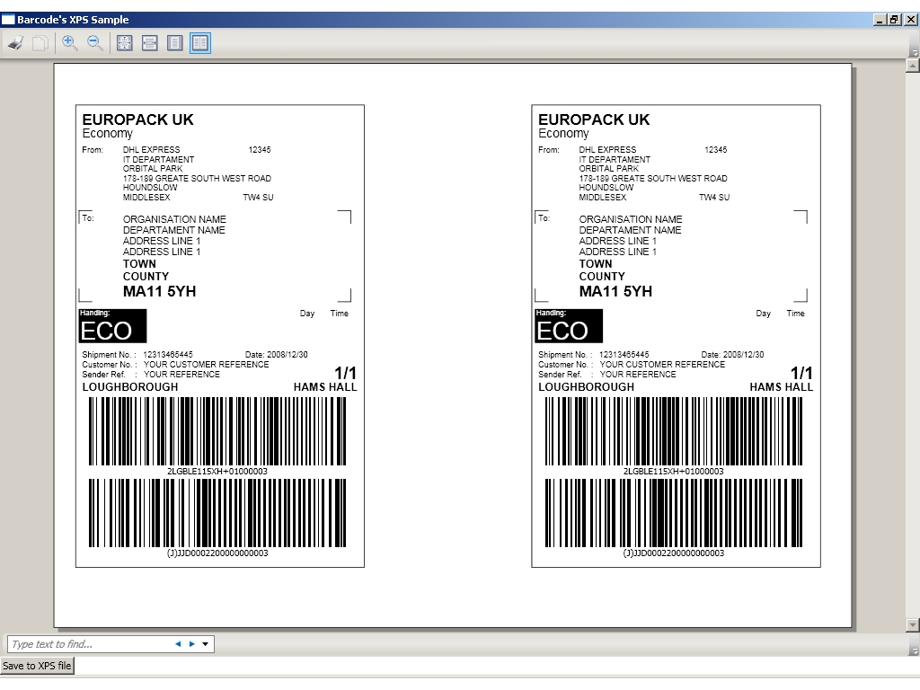 FPS Barcodes for WPF