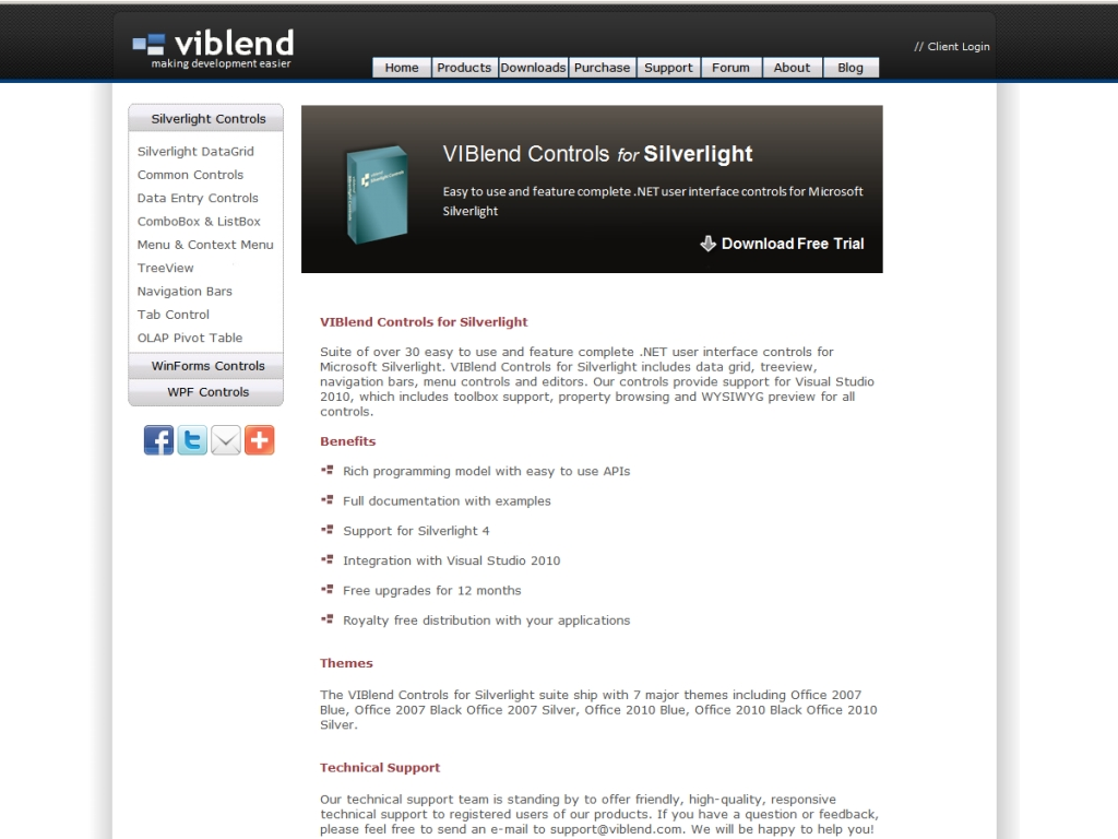 VIBlend Controls for Silverlight